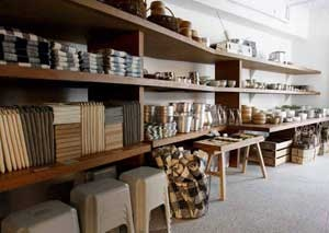 muji s 39 installe au forum des halles. Black Bedroom Furniture Sets. Home Design Ideas