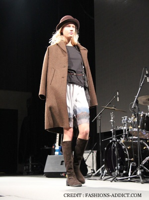 Collections Fashions Week Mars