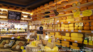 magasin fromage Amsterdam