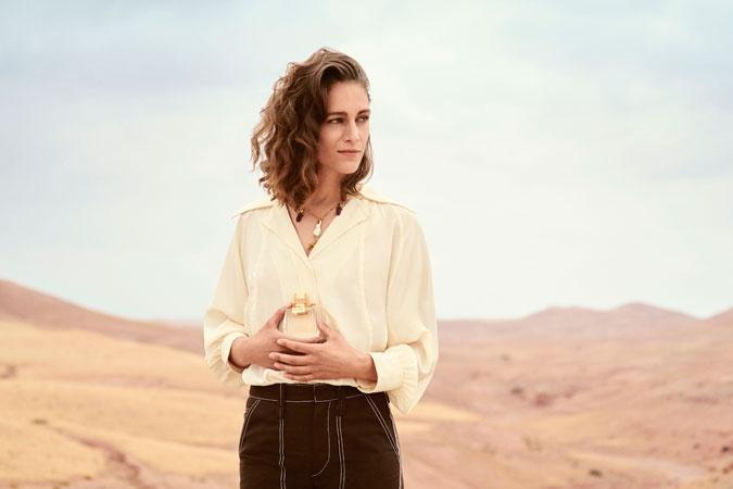 Lactrice Franco Grecque Ariane Labed égérie Du Nouveau Parfum Chloé
