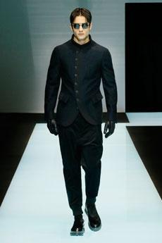 25451aeeb Mode Homme AH 2016-2017 : défilé Giorgio Armani à Milan