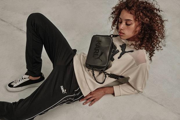 Le créateur Karl Lagerfeld collabore avec Puma