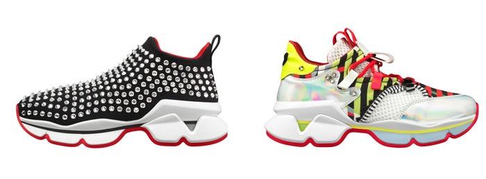 taille 40 e16b5 b8bc0 La sneaker femme de luxe selon Louboutin