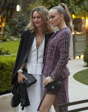 Vanessa Paradis et sa fille Lily-Rose Depp