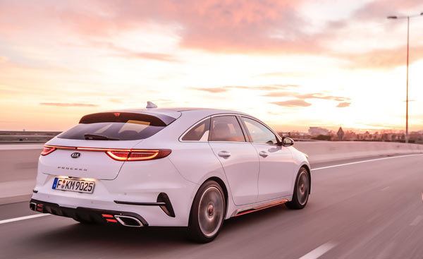 Shooting break Kia proCeed GT