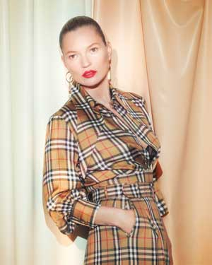 Kate Moss for Burberry